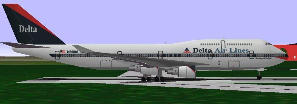 Delta 747-400